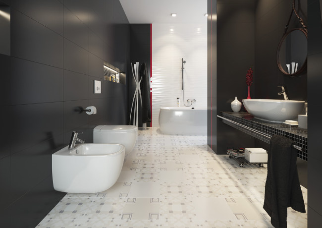Mozaika do naszej łazienki